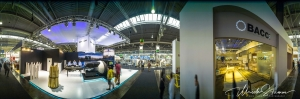 LIGNA 2013 exhibition in Hannover - 360 degrees panorama of Wood eye