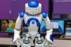 Roboter auf der CeBIT 2017