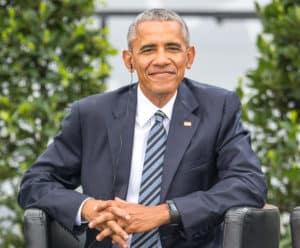Barack Obama auf dem 36. Deutschen Evangelischen Kirchentages in Berlin am 25.05.2017