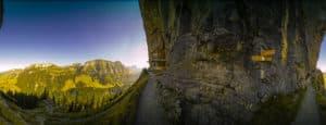 360 Grad Panorama Gasthaus Aescher im Appenzeller Land (Schweiz)